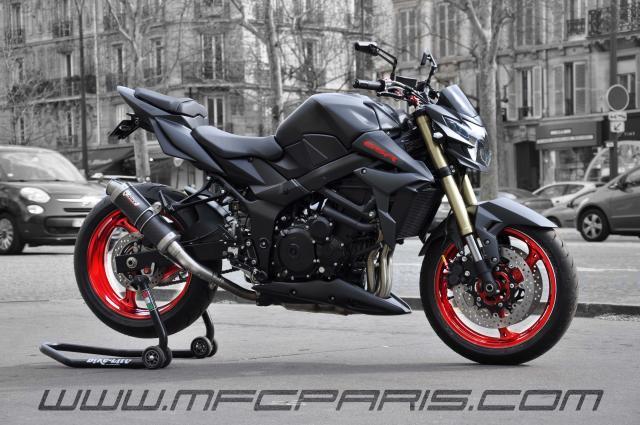 SUZUKI by MFC Paris GSR 750 BC-030 MFC Design - Préparation motos ...