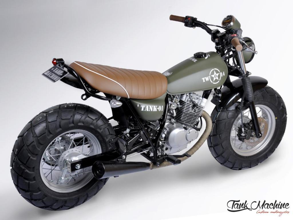 VANVAN by MFC Paris VAN-VAN ARMY MFC Design - Préparation motos ...